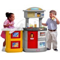 Little Tikes  Kuchyňka s pračkou šedo-žlutá