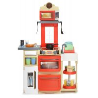 Little Tikes Kuchyňka Cook 'n Store Červená - Poškozený obal