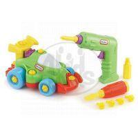 Little Tikes Malý konstruktér s formulí - Závodní auto