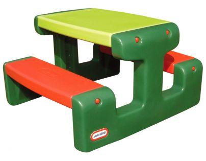 Little Tikes Piknikový stoleček Evergreen Junior - Poškozený obal