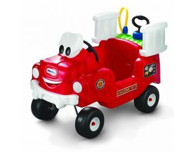 Little Tikes 616129 - Odrážedlo hasičský vůz s funkční stříkačkou