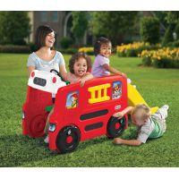 Little Tikes Požárnické vozidlo s kluzavkou - Poškozený obal  3