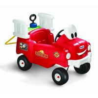 Little Tikes 616129 - Odrážedlo hasičský vůz s funkční stříkačkou 2