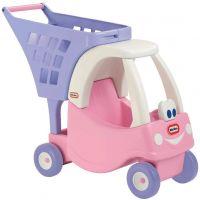 Little Tikes 620195 - Cozy nákupní vozík - růžový - Poškozený obal