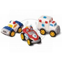 Little Tikes 622793M - Sada tří autíček - sanitka, policie a hasič