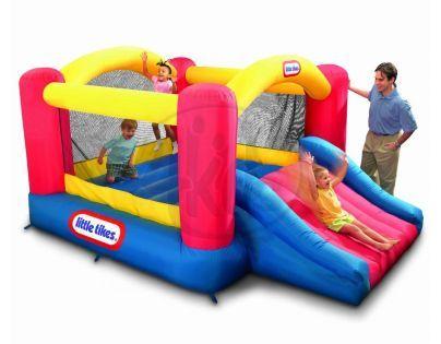 Skákací centrum Jump and slide Bouncer Little Tikes