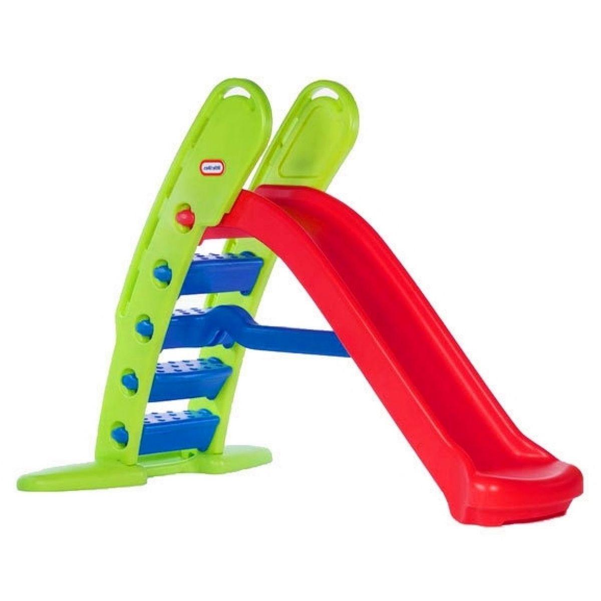 Little Tikes Obří skluzavka Primary zelená