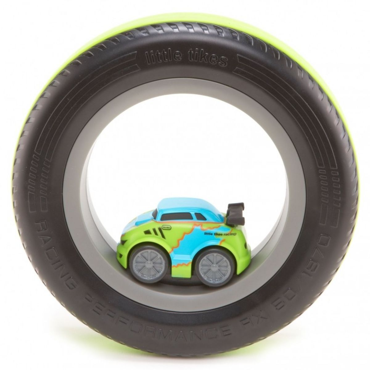 Little Tikes Tire Racers Modrozelené auto