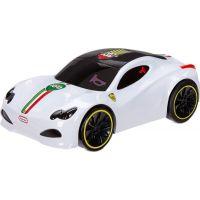 Little Tikes Touch n' Go Racers Interaktivní autíčko bílý sporťák