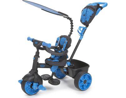 Little Tikes Tříkolka 4v1 Deluxe Neonová modrá