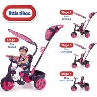Little Tikes Tříkolka 4v1 Deluxe Neonová růžová 6