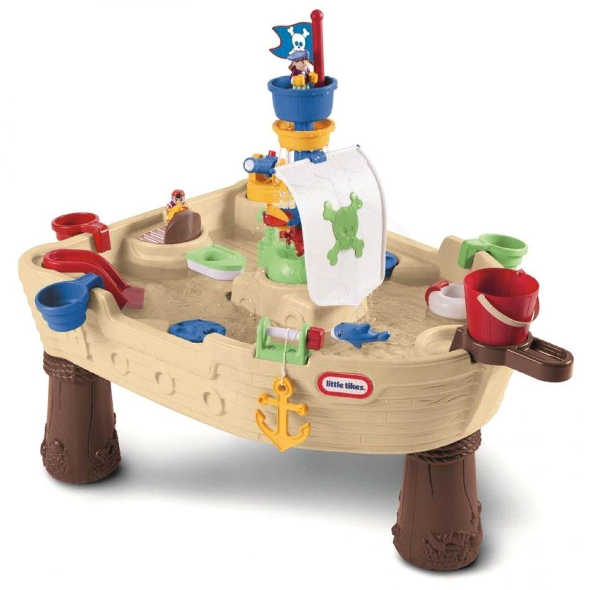 Little Tikes Vodní stůl - pirátská loď ef34b7805e