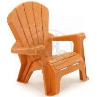 Little Tikes Zahraní židlička oranžová