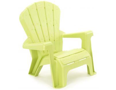 Little Tikes Zahraní židlička zelená