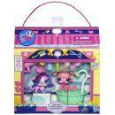 Littlest Pet Shop 4 zvířátka s doplňky v přenosném balení - Gettin' Glam 2