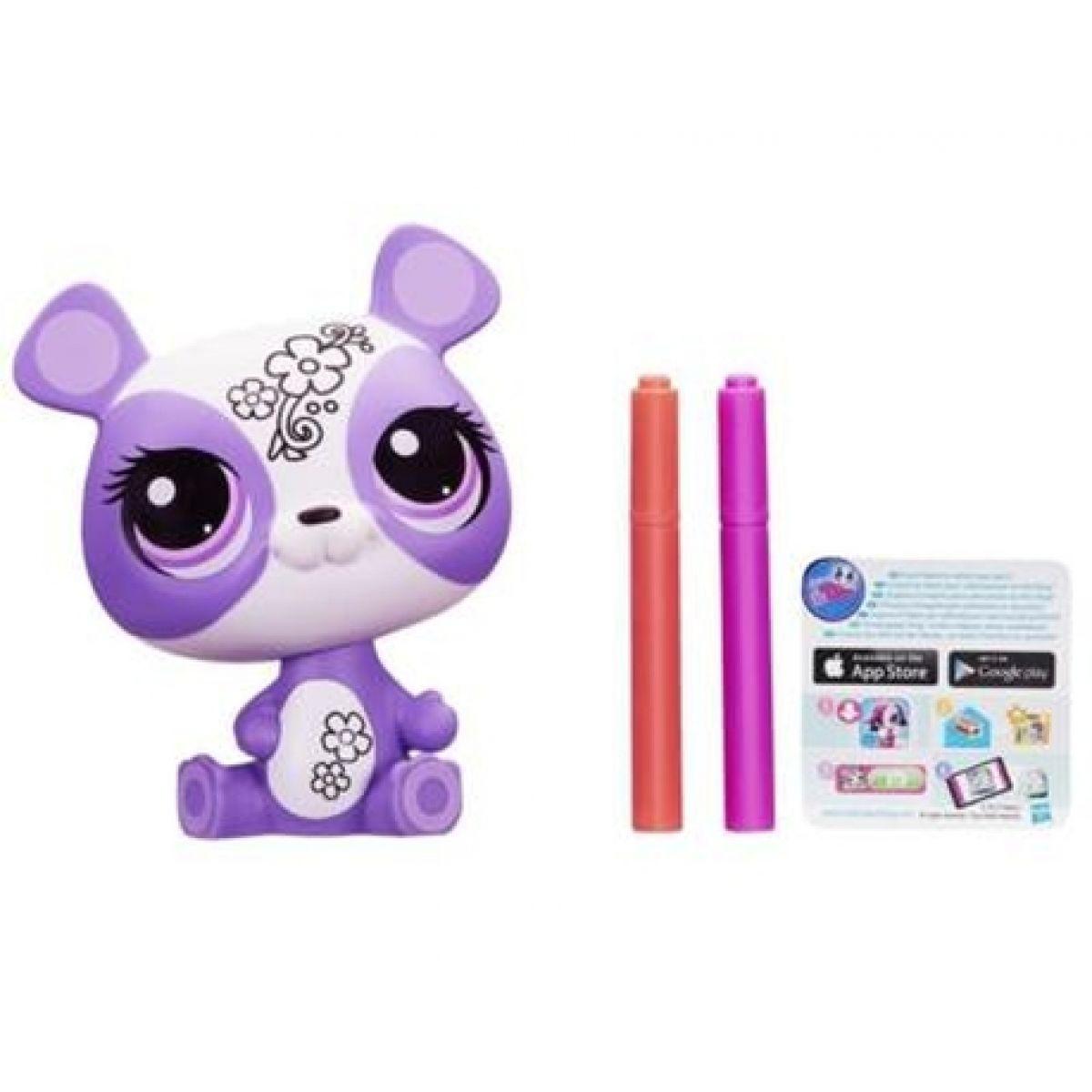 Littlest Pet Shop Dekorativní zvířátko - Panda