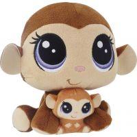 Littlest Pet Shop Duo plyšových zvířátek Mona Junglevine
