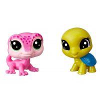 Littlest Pet Shop Dvě zvířátka Ally Geckoro + Kyle Turtlee