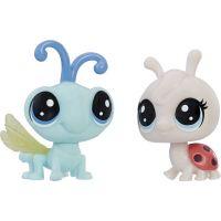 Littlest Pet Shop Dvě zvířátka Lynette Ladyfly + CY Flydragon