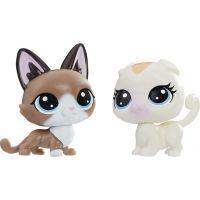 Littlest Pet Shop Dvě zvířátka Radar Snowcat a Bella Scotsfeld