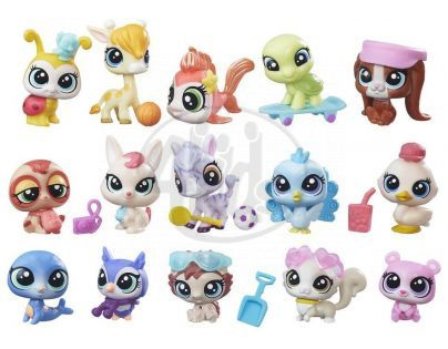 Littlest Pet Shop herní set zvířátek - Active Adventures