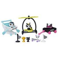 Littlest Pet Shop Hrací set Rowdy Racers