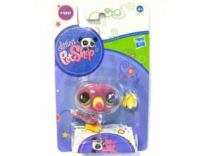 Littlest Pet Shop Jednotlivá zvířátka A - 2100 Kočička růžová