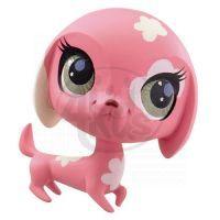 Littlest Pet Shop Jednotlivá zvířátka A - 2100 Kočička růžová 2