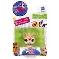 Littlest Pet Shop Jednotlivá zvířátka A - 2100 Kočička růžová 4