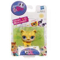 Littlest Pet Shop Jednotlivá zvířátka A - 2100 Kočička růžová 5