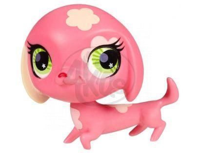Littlest Pet Shop Jednotlivá zvířátka A - 2735 Pejsek růžový