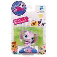 Littlest Pet Shop Jednotlivá zvířátka A - 2736 Růžový zajíček 2