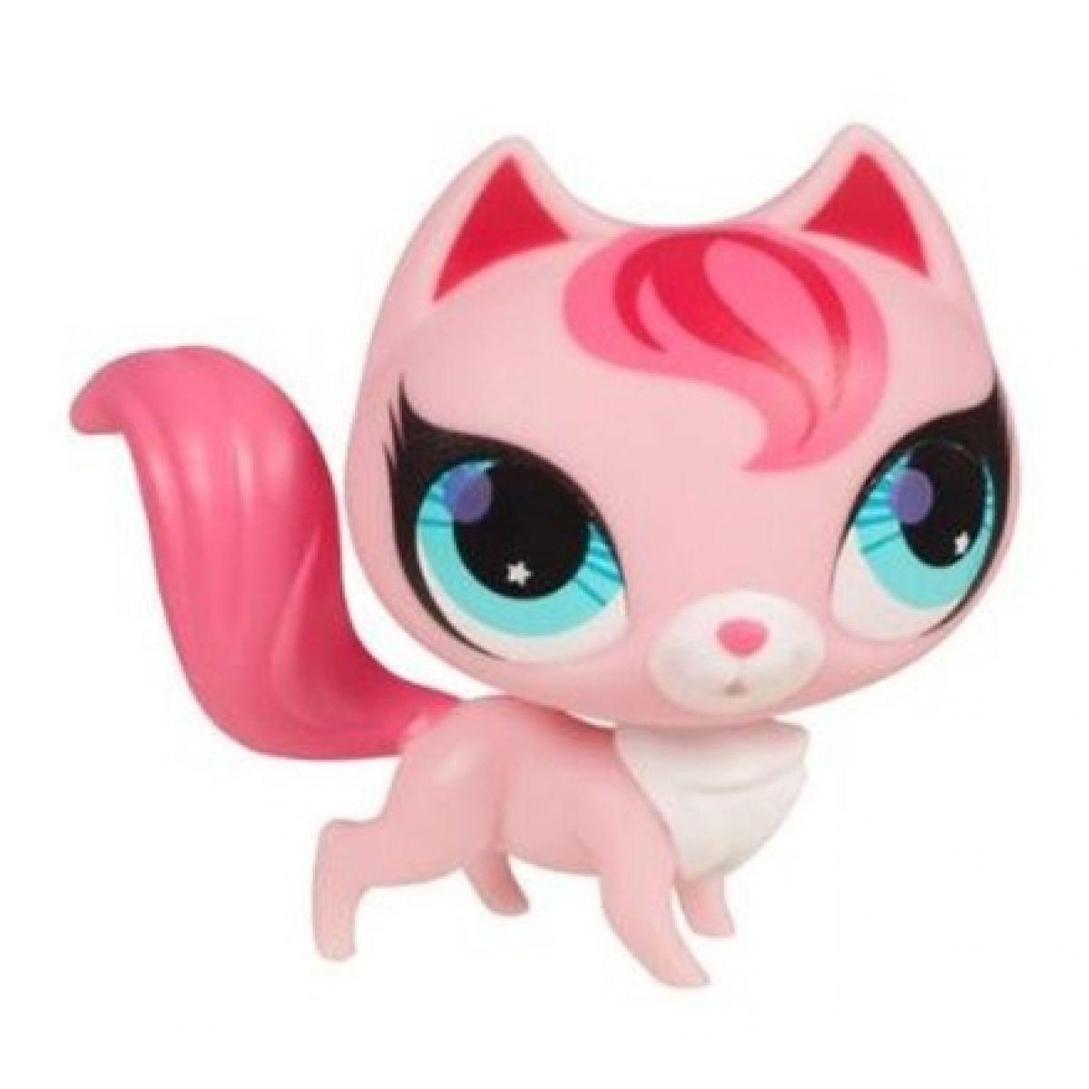 Littlest Pet Shop Jednotlivá zvířátka B - 2747 Liška růžová