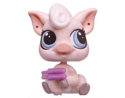 Littlest Pet Shop jednotlivá zvířátka - Lolly Pinkington