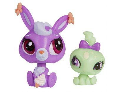 Littlest Pet Shop Maminka s miminkem - A8431 Zajíček a želvička