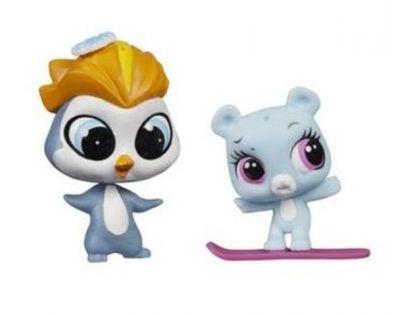 Littlest Pet Shop Maminka s miminkem - A9396 Tučňák a polární medvídek