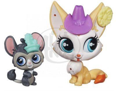 Littlest Pet Shop Maminka s miminkem - B0098 Roxy Reddington a Dusty West