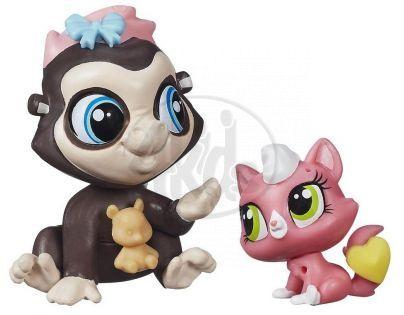 Littlest Pet Shop Maminka s miminkem - B0100 Terrence Konga A Purl McSweeney