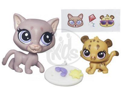 Littlest Pet Shop Maminka s miminkem - B4761 Sunny Cougar a Cubby Cougar