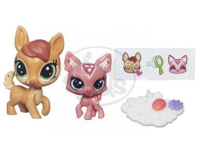 Littlest Pet Shop Maminka s miminkem - B4762 Daphne Deerheart a Fauna Deerheart