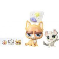 Littlest Pet Shop Maminka s miminkem B5689 Sulky MacWhiskers a Chenille Chilla
