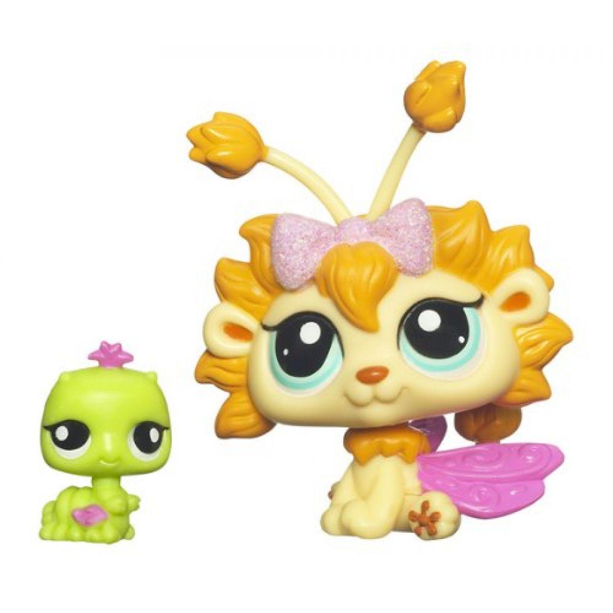 Littlest Pet Shop Okouzlující víly Hasbro - 2608 Pampeliška 2609 červík