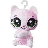 Littlest Pet Shop Plyšák s klipem Pinky Calicoco