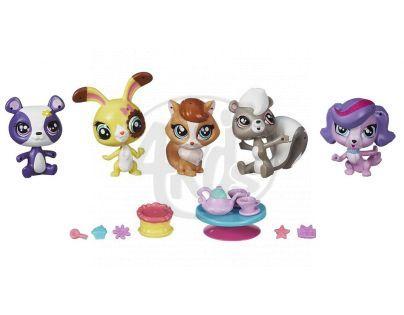 Littlest Pet Shop Pět zvířátek s doplňky - B1428