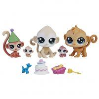 Littlest Pet Shop Rodinné balení zvířátek Narozeninová oslava