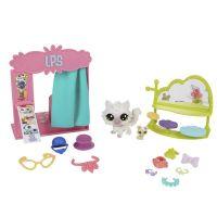 Littlest Pet Shop Tématický set se zvířátkem Flashy Photo Booth