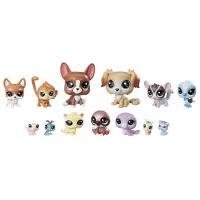 Littlest Pet Shop Velké balení 13 ks zvířátek Mischief Pals E1011