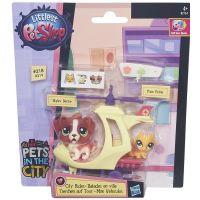 Littlest Pet Shop Zvířátko s kamarádem a vozidlem - B7754 2