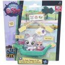 Littlest Pet Shop Zvířátko s kamarádem a vozidlem - B7755 2