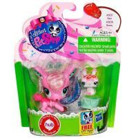 Littlest Pet Shop zvířátka - 3037 Jelen 3038 Králík 3